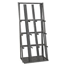 14 Gauge Steel Vertical Long Parts Storage Rack by Durham Manufacturing