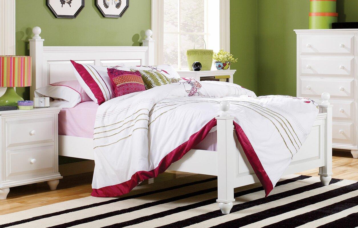 lang furniture madison panel customizable bedroom set & reviews