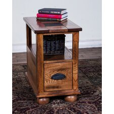 Fresno Chair Side Table by Loon Peak