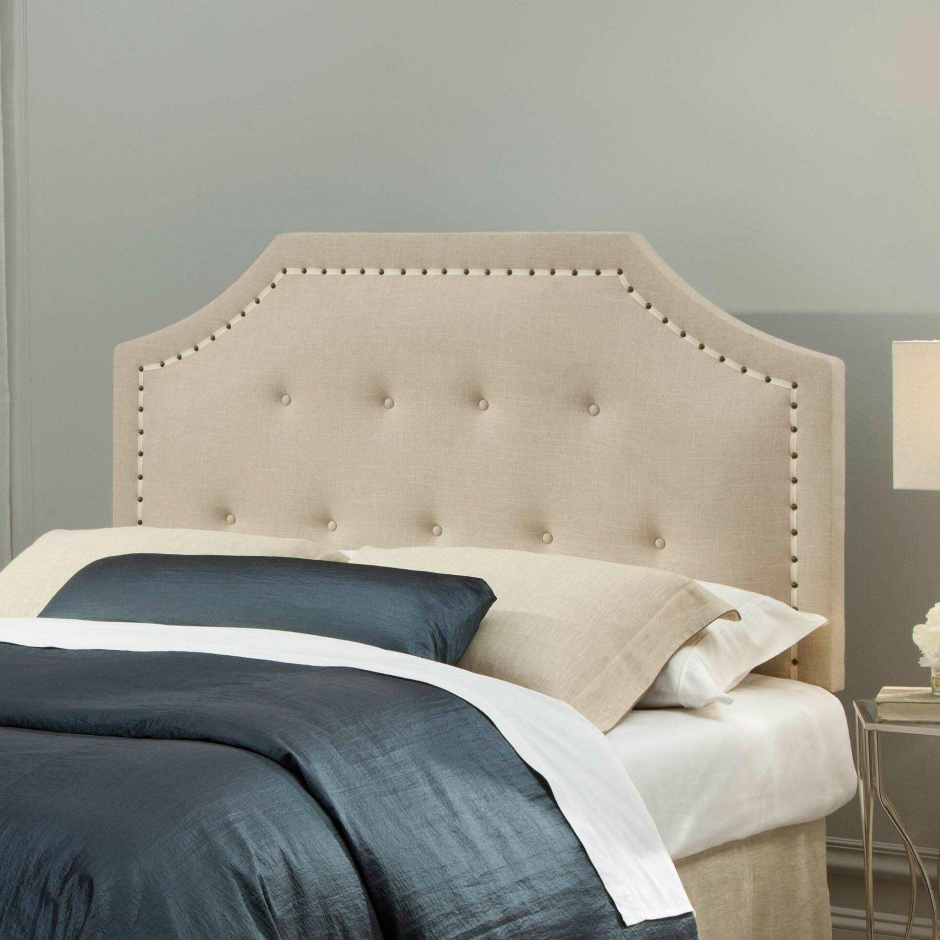 Bed headboard upholstered - Avignon Upholstered Panel Headboard