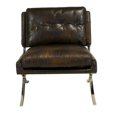Capetown Leather Occasional Lounge Chair by Design Tree Home