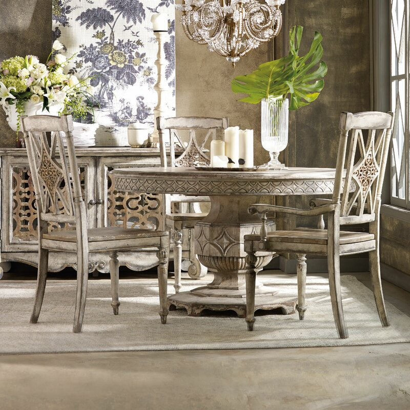 hooker furniture chatelet dining table base | wayfair
