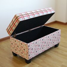Fabric Storage Bedroom Bench by 4D Concepts