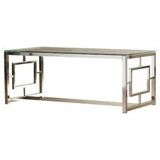 modern glass coffee tables | allmodern