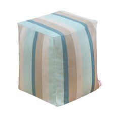 Sunbrella Outdoor/Indoor Cube Ottoman by Core Covers