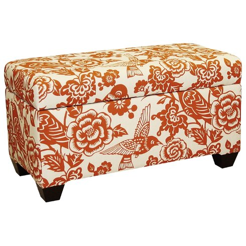 Skyline Furniture Upholstered Storage OttomanReviewsWayfair