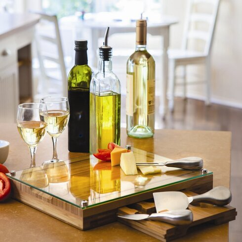 Concerto Cutting Cheese Tray