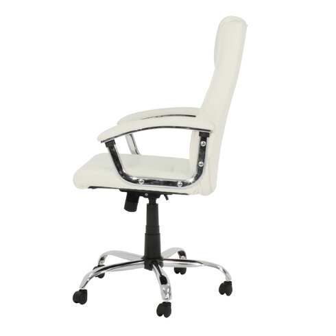 High-Back Executive Chair with Lumbar Support