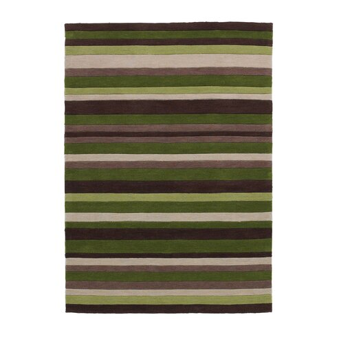 Hong Kong Hand-Tufted Green Area Rug