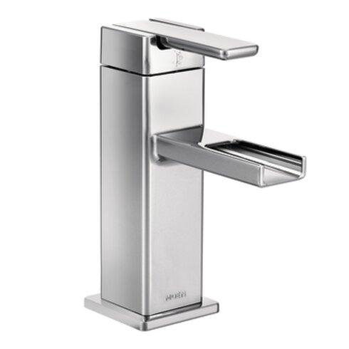 Moen 90 Degree Single Handle Single Hole Bathroom Faucet with
