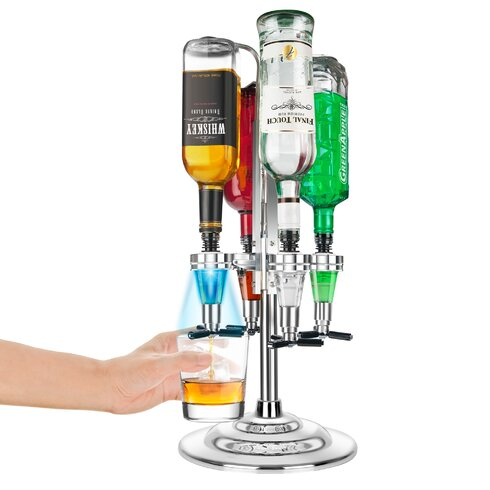Final Touch Rotary LED Bar Caddy