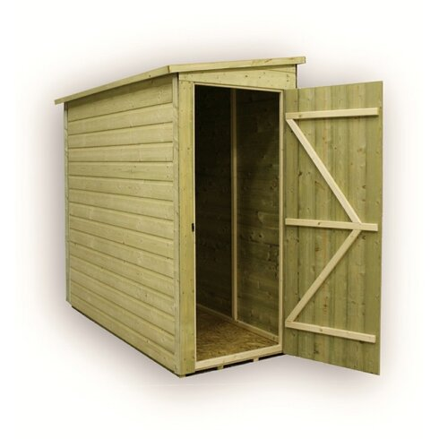 9 x 4 Wooden Lean-To Shed