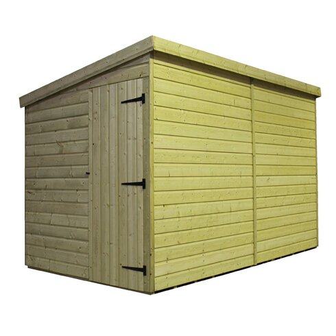12 x 5 Wooden Lean-To Shed