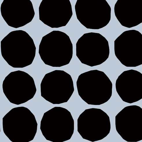 "Pienet Kivet 33' x 27"" Polka Dot Wallpaper Roll"