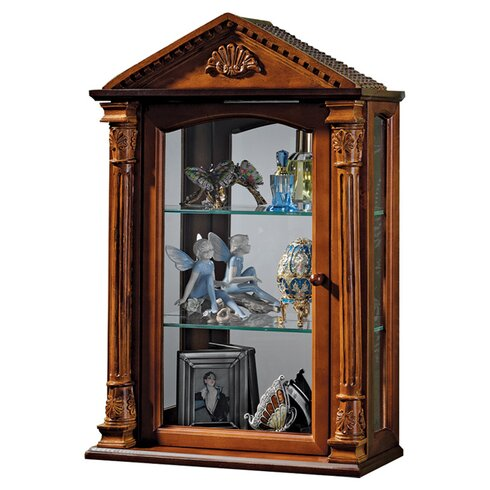 Large Wall Mounted Curio Cabinets Roselawnlutheran For