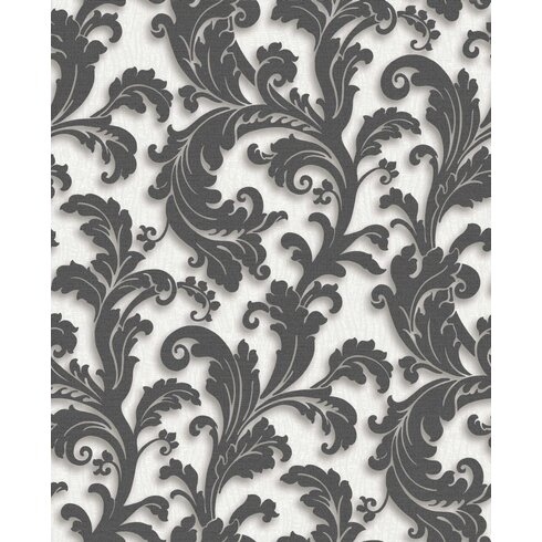 Capulet 10m L x 52cm W Floral and Botanical 3D Embossed Roll Wallpaper