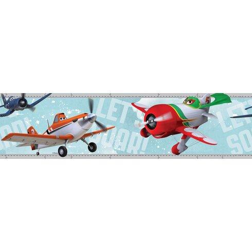 Planes 5m L x 15.9cm W Border Wallpaper