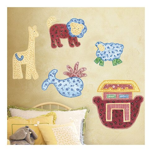 Patchwork Animals Wall Stickers