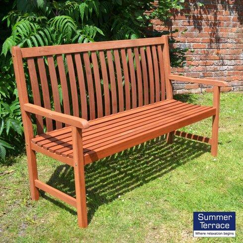 Hamina 2 Seater Wooden Bench