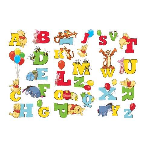 Winnie The Pooh Alphabet Stickers