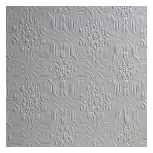 Original 10m L x 52cm W Damask 3D Embossed Roll Wallpaper