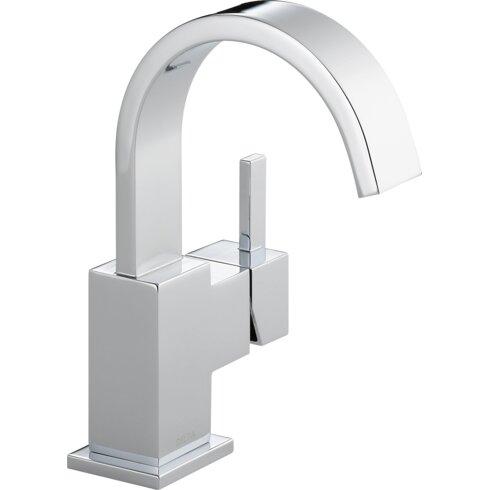 Delta Vero Single Hole Bathroom Faucet with Metal Pop Up Drain
