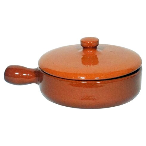Terracotta Dish with Lid