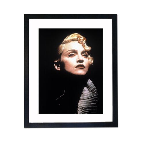 Madonna Portrait Framed Photographic Print