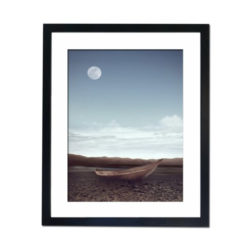 Moon Boat Framed Photographic Print