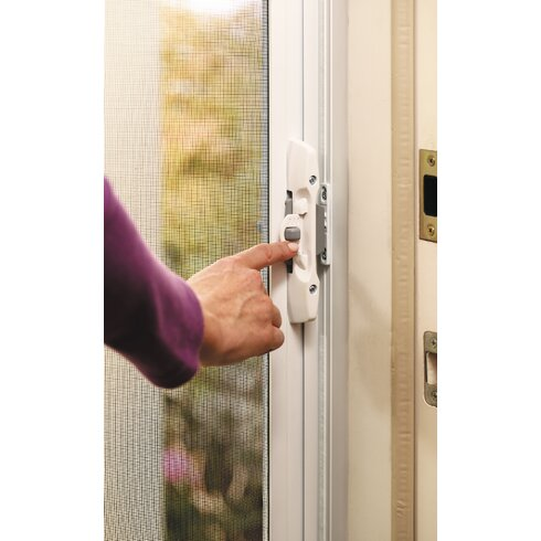 Zabitat brisa retractable screen door reviews wayfair for Best retractable screen door reviews