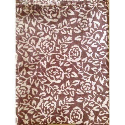 Rose Natural Tablecloth