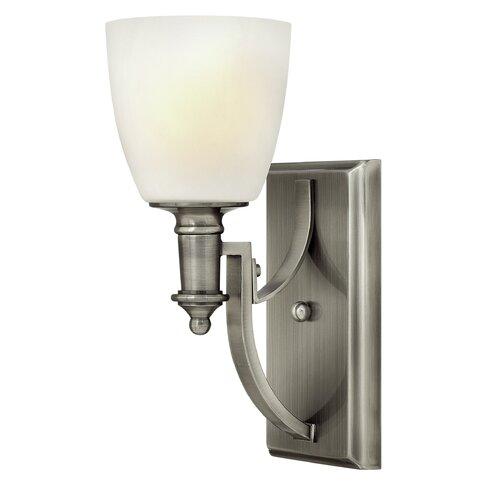 Truman 1 Light Semi-Flush Wall Light