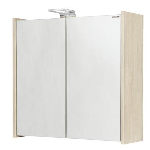 60,5 x 63,5 cm Spiegelschrank Kayo