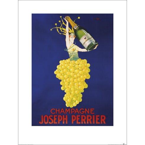 Champagne Vintage Advertisement