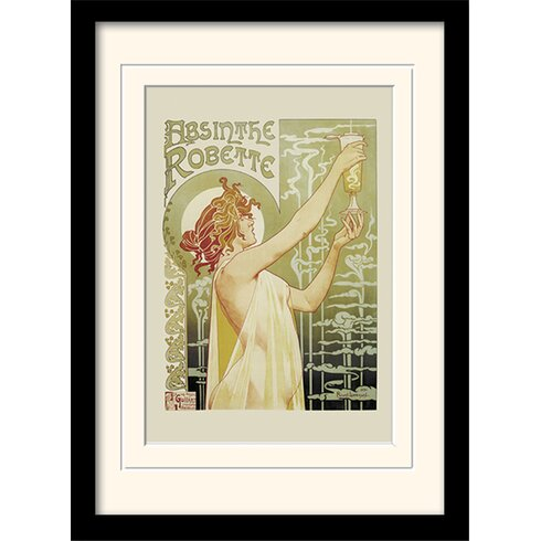 Absinthe Robette Framed Vintage Advertisement