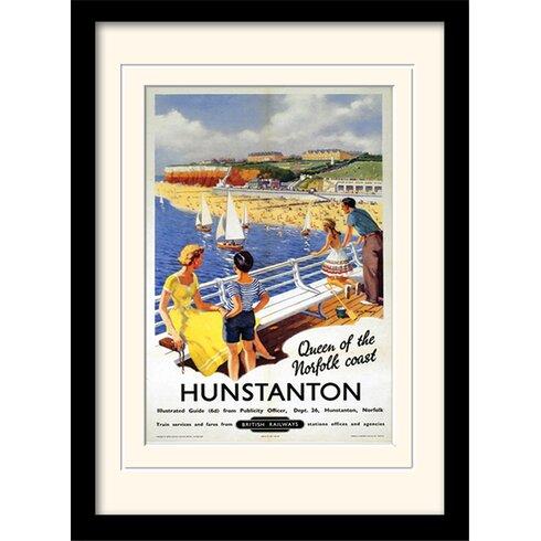 Hunstanton Mounted Framed Vintage Advertisement