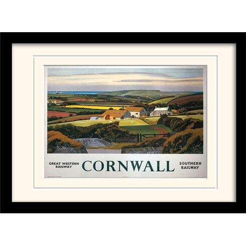 Cornwall #4 Framed Graphic Art