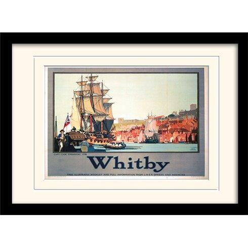 Whitby Framed Vintage Advertisement
