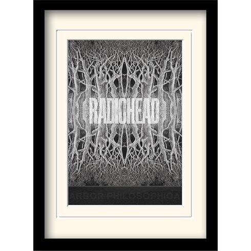 Radiohead King of Limbs Framed Graphic Art