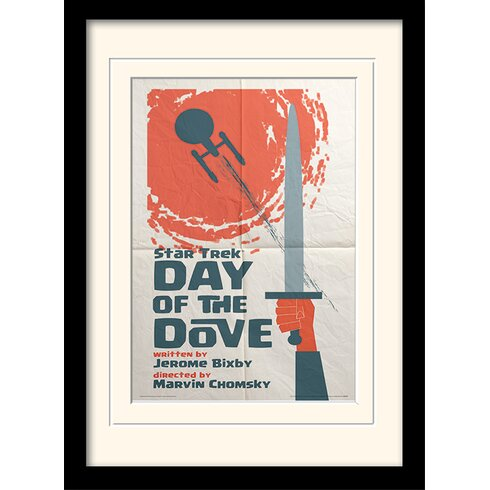 Day Of The Dove by Star Trek Mounted Framed Vintage Advertisement