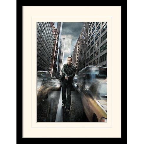 Jack Bauer NYC 24 Mounted Framed Vintage Advertisement