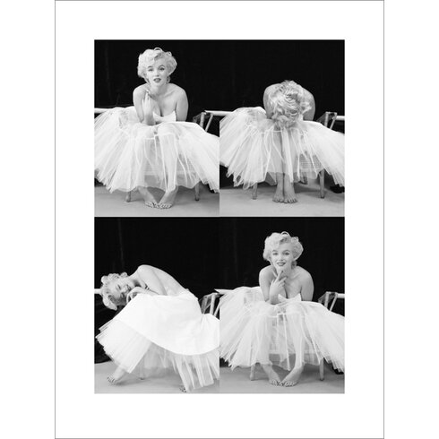 Marilyn Monroe, Ballerina Sequence Photographic Print