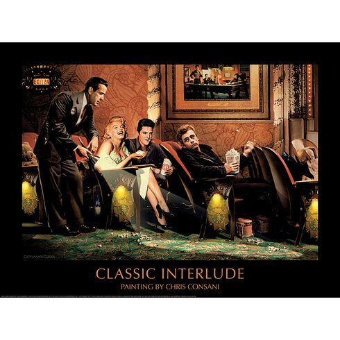 Classic Interlude by Chris Consani Vintage Advertisement