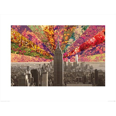 Flowers of New York by Bianca Green Graphic Art