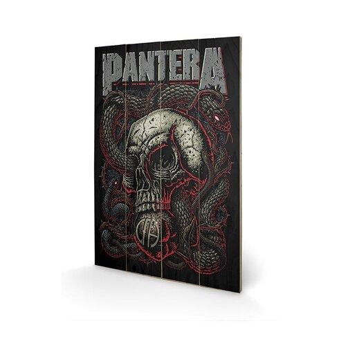 Pantera Snake Eye Vintage Advertisement Plaque
