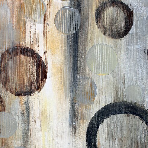 Abstraction II by Irena Orlov Art Print on Canvas