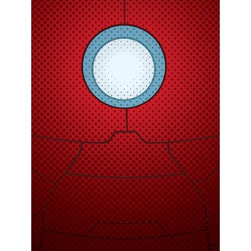 Avengers Assemble, Iron Man Torso Canvas Wall Art