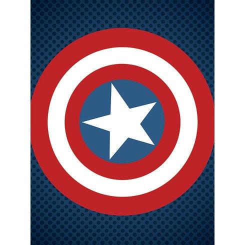 Avengers Assemble, Captain America Shield Canvas Wall Art