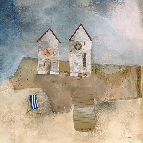 The Deck Chair by Louise O'Hara Canvas Wall Art
