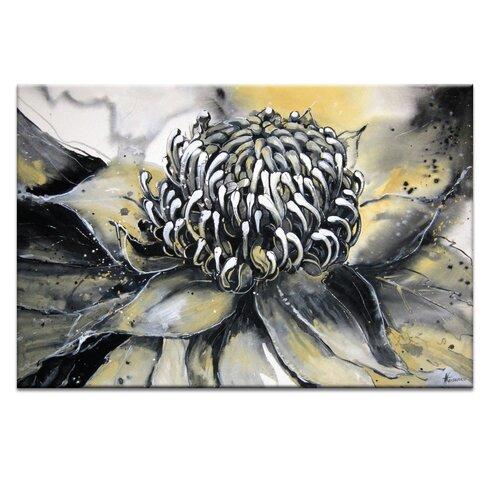 White Waratah by Olena Kosenko Graphic Art Wrapped on Canvas
